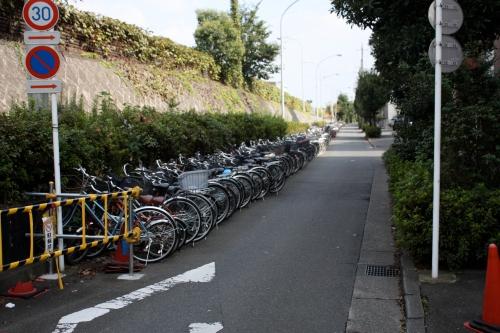 Bike parking for a billion people
