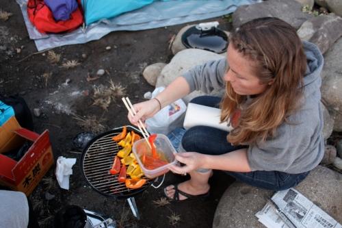 Camp food a la Tokyo Terrace